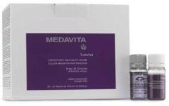 Medavita Luxviva Colour Magnifier Hair Emulsion 20x10ml Ampullen Gekleurd Haar 200ml