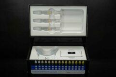 """Bellezzastyle: Tandenbleek set - LED KIT """"TOUCHKNOP & BLAUW LICHT voor wittere tanden & ROOD LICHT voor tandvlees irritatie"""""""