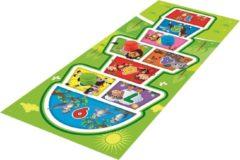 Rode Lifetime Games Hinkelspel Speelkleed - met 4 Werpschijven - voor Binnen en Buiten