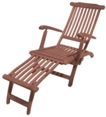 Garden Pleasure Deckchair Eukalyptus Holz Sonnenliege Garten Relax Liege Möbel