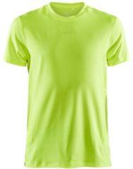 Craft Adv Essentialence S/S Tee Sportshirt Heren - Maat S