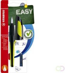 Vulpen Stabilo Easybuddy zwart/lime linkshandig in blister
