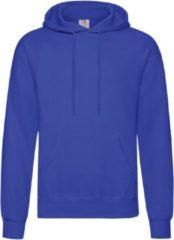 Fruit of the Loom capuchon sweater kobaltblauw voor volwassenen - Classic Hooded Sweat - Hoodie - Heren kleding 2XL (EU 56)