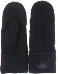 Warmbat Handschoenen Mitten Women Lammy Zwart