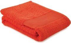 Arowell Sporthanddoek Fitness Handdoek 130 x 30 cm - 500 Gram - Oranje - 5 stuks