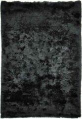Disena Zwart vloerkleed - 70x140 cm - Effen - Industrieel