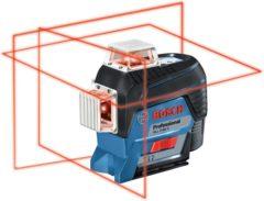 Bosch Professional Lijnlaser GLL 3-80 C 4 x AA batterijen + adapter + richtplaat + etui
