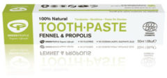Groene Green People Tandpasta fennel & propolis 50 Milliliter