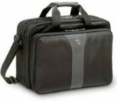 Grijze Wenger Laptop bag Legacy Double Gusset Suitable for up to: 40,6 cm (16) Black, Grey