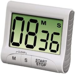 Xavax kookaccessoires Keukenwekker Countdown digitaal wit