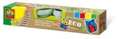 SES Creative Eco klei multicolor 4x90gr