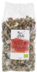 Nice&Nuts Energy mix superfoods Nice & Nuts - Zak 1000 gram - Biologisch