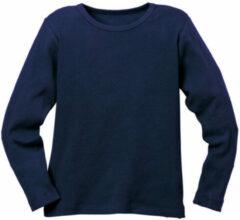 Minibär DESIGN Ribbelshirt, blauw 122/128