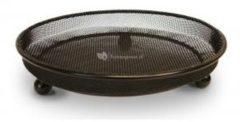 Zwarte Merkloos / Sans marque Grondvoedertafel rond fijn gaas