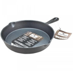 Zwarte Imperial Kitchen Koekenpan - 25 cm - Gietijzer