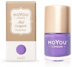 Paarse Mo You London MoYou London Stempel Nagellak - Stamping Nail Polish 9ml. - Purple Rain