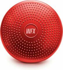 #DoYourFitness - Balanskussen incl pomp - »BlowUp« - balanskussen ideaal voor fitness, pilates, fysiotherapie en rug training - Ø 33 cm. - rood