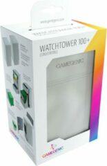 Witte Gamegenic Deckbox Watchtower 100+ - White DECKBOX