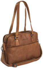 The Chesterfield Brand Barcelona Bowlingbag cognac Damestas