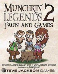 Steve Jackson Games Munchkin Legends 2 Faun and Games