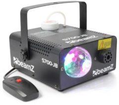 Rookmachine - Beamz S700-JB 700W rookmachine met ingebouwd Jelly Ball lichteffect