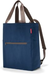 Reisenthel Mini Maxi 2-in-1 - Shopper / Rugzak - Opvouwbaar - 19L - Dark Blue Donkerblauw