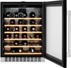 AEG SWB66001DG onderbouw wijnkoeler met glazen deur met UV-bescherming