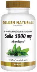 Golden Naturals Salie 5000 mg (60 veganistische capsules)