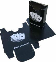 Zwarte Presentdoosjes.nl Presentdoosje Speelkaartendoosje Potje Kaarten: 6 x 3 x 9cm (10 stuks)
