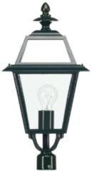 Ks Nostalgische, vierkante lantaarn lamp 1514 - Venlo K14A Kleur: Zwart Ral 9005 - Outlet