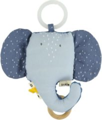Blauwe Trixi Baby Trixie Baby music toy - Mrs. Elephant