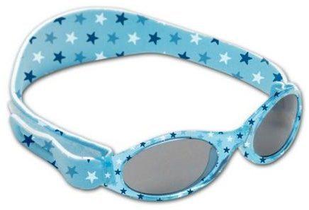 Afbeelding van Baby Banz Dooky BabyBanz - Zonnebril - 0-2 jaar - Blue Star