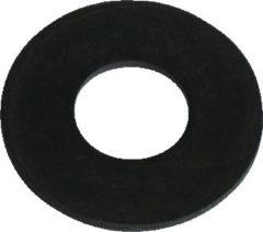 Zwarte Wisa bodemklepring 65x23mm oud v 750 - 5 stuks