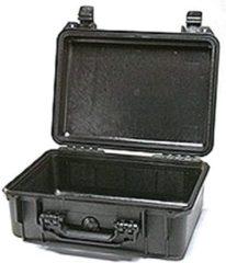 Grijze Peli Case - Camerakoffer - 1450 - Zwart - excl. plukschuim 37,10 x 25,80 x 15,20 cm (BxDxH)