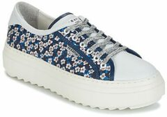 Blauwe Lage Sneakers Serafini SOHO