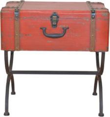 Beistelltisch 'Koffer' Heinz Hofmann GmbH Rot