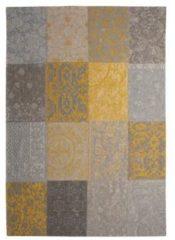 Vintage Vloerkleed Yellow 8084 - Louis de Poortere-[Afmetingen:140 x 200 cm]-[Afmetingen:140 x 200 cm - (S)]