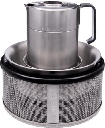 Afbeelding van Zilveren COBB Waterketel met draagtas 1 L 701661