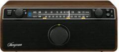 Sangean WR-12BT UKW Tischradio mit Bluetooth,Farbe: Walnussgehäuse