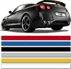 Universeel Universele zelfklevende striping AutoStripe Cool200 - Wit - 6 mm x 975 cm