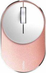 Roze Hama Rapoo M600 Mini Silent muis RF draadloos + Bluetooth 1300DPI Ambidextrous