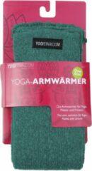 Yogistar Yoga-armwarmers emerald groen - wol Armwarmers