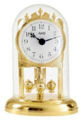 Goudkleurige AMS 1101 Tischuhr klassisch - Serie: AMS Tischuhren