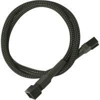 Nanoxia 900100000 kabeladapter/verloopstukje 3-pin molex Zwart
