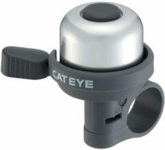 Zilveren CatEye - PB-1000 Wind-Bell - Fietsbel silber /zwart