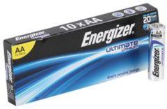 AA batterij (penlite) Energizer Ultimate Industrial LR06 Lithium 1.5 V 10 stuks