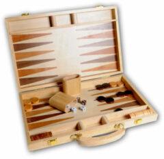 Engelhart Longfield Games Backgammon 15 Inch - Ingelegd Hout