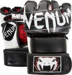 Witte Venum MMA Handschoenen Undisputed 2.0 Zwart Small