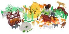 Eddy Toys Speelgoedset Wilde Dieren - 75-delig