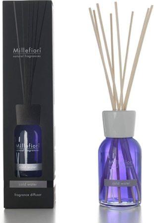 Afbeelding van Blauwe MIllefiori Milano geurstokjes - Cold Water 100 ml